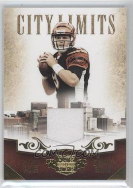 2010 Panini Plates & Patches - City Limits - Materials [Memorabilia] #4 - Carson Palmer /299