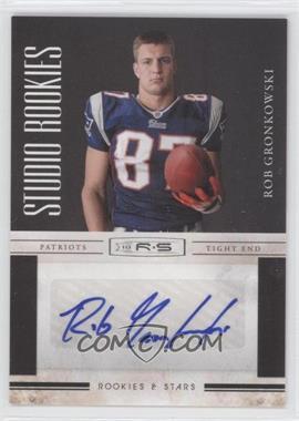 2010 Panini Rookies & Stars - Studio Rookies - Signatures [Autographed] #26 - Rob Gronkowski /10