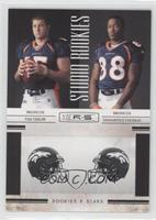 Tim Tebow, Demaryius Thomas /100