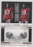 Gerald McCoy, Mike Williams /500