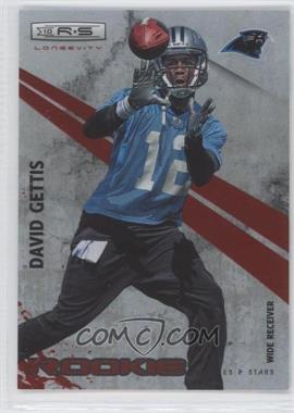 2010 Panini Rookies & Stars Longevity - [Base] - Ruby #188 - David Gettis /100