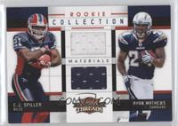 Ryan Mathews, C.J. Spiller #/299