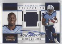 Damian Williams #/15