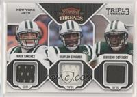Jerricho Cotchery, Mark Sanchez, Braylon Edwards /200