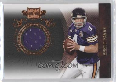 2010 Plates & Patches - [Base] - Infinity Jerseys [Memorabilia] #53 - Brett Favre /299