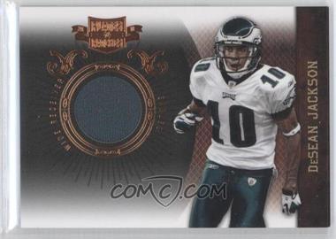 2010 Plates & Patches - [Base] - Infinity Jerseys [Memorabilia] #72 - DeSean Jackson /245