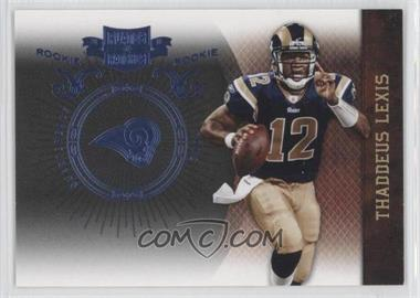 2010 Plates & Patches - [Base] - Infinity Platinum #194 - Thaddeus Lewis /10