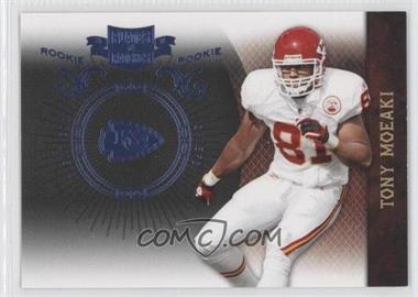 2010 Plates & Patches - [Base] - Infinity Platinum #195 - Tony Moeaki /10