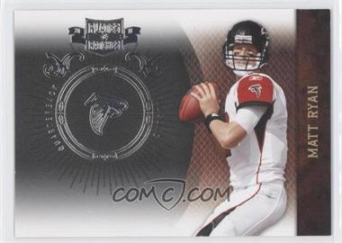 2010 Plates & Patches - [Base] - Infinity Silver #4 - Matt Ryan /100