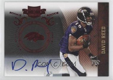 2010 Plates & Patches - [Base] #124 - David Reed /249