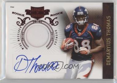2010 Plates & Patches - [Base] #209 - Demaryius Thomas /699