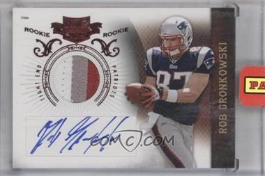 2010 Plates & Patches - [Base] #229 - Rob Gronkowski /699