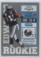 Armanti Edwards (Black Jersey) #/99