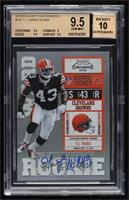 T.J. Ward [BGS 9.5 GEM MINT] #/500
