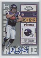 Toby Gerhart (Ball Covers Tops of Numbers) /495