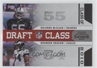 Brandon Graham, Rolando McClain /50