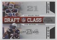 C.J. Spiller, Ryan Mathews /50
