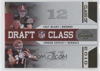 Colt McCoy, Jordan Shipley #/100