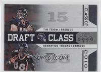 Demaryius Thomas, Tim Tebow