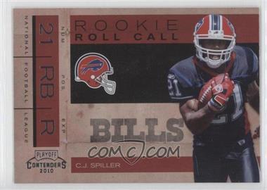 2010 Playoff Contenders - Rookie Roll Call #5 - C.J. Spiller