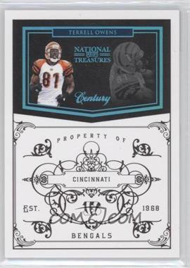 2010 Playoff National Treasures - [Base] - Century Platinum #32 - Terrell Owens /1
