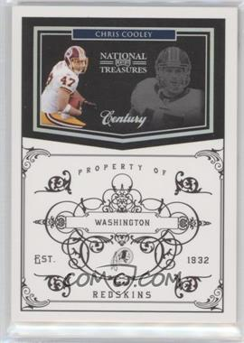 2010 Playoff National Treasures - [Base] - Century Silver #147 - Chris Cooley /25