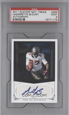 2010 Playoff National Treasures - [Base] #265 - Rookie Signature - LeGarrette Blount /99 [PSA 9]
