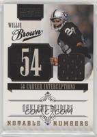 Willie Brown /99