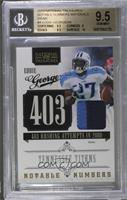 Eddie George /50 [BGS 9.5 GEM MINT]