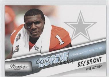 2010 Playoff Prestige - [Base] - Draft Picks Light Blue #234 - Dez Bryant /999