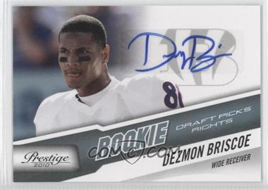 2010 Playoff Prestige - [Base] - Rookie Draft Picks Rights Autographs #235 - Dezmon Briscoe /599