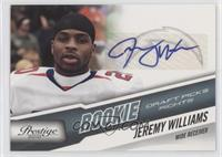 Jeremy williams #/999