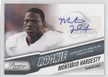 2010 Playoff Prestige - [Base] - Rookie Draft Picks Rights Autographs #273 - Montario Hardesty /399