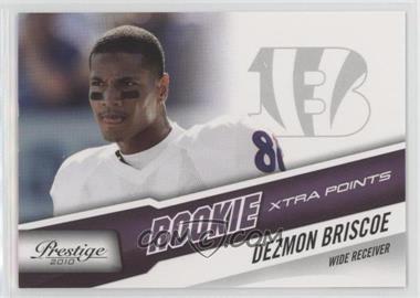 2010 Playoff Prestige - [Base] - Xtra Points Purple #235 - Dezmon Briscoe /50