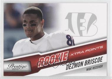 2010 Playoff Prestige - [Base] - Xtra Points Red #235 - Dezmon Briscoe /100