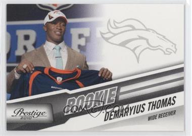 2010 Playoff Prestige - [Base] #230.2 - Demaryius Thomas (Draft Day)