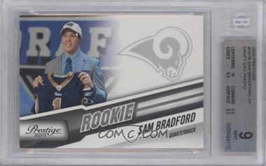 2010 Playoff Prestige - [Base] #287.2 - Sam Bradford (Draft Day) [BGS9]