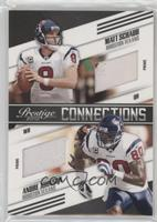 Matt Schaub, Andre Johnson #/50