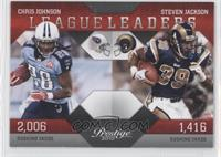 Steven Jackson, Chris Johnson