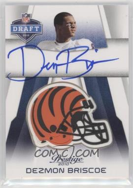 2010 Playoff Prestige - Pro Helmets Autographs #NFL-DB - Dezmon Briscoe