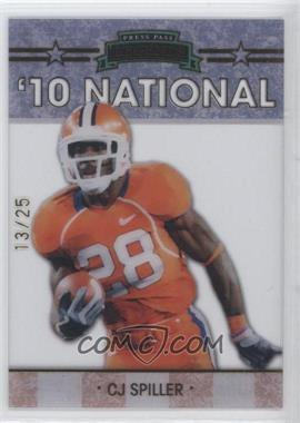 2010 Press Pass - Legends National Convention - Gold #NE-3 - C.J. Spiller /25