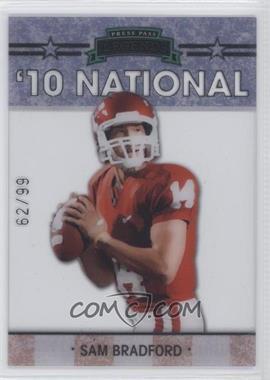 2010 Press Pass - Legends National Convention #NE-2 - Sam Bradford /99