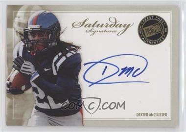 2010 Press Pass - Saturday Signatures #SS-DM - Dexter McCluster [EXtoNM]