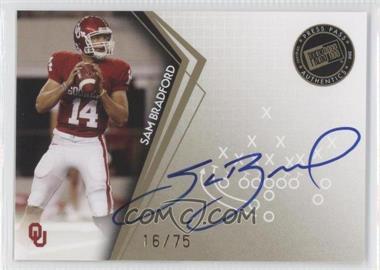 2010 Press Pass - Signatures - Gold #PPS-SB - Sam Bradford
