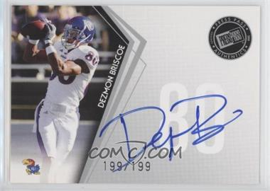 2010 Press Pass - Signings - Silver #PPS-DB - Dezmon Briscoe /199
