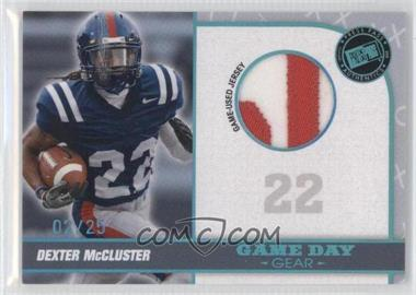 2010 Press Pass Portrait Edition - Game Day Gear - Premium #GDG-DM - Dexter McCluster /25