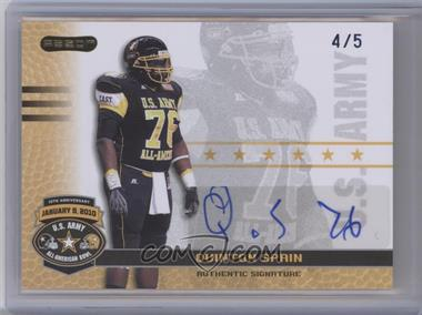 2010 Razor U.S. Army All-American Bowl - Autographs - Blue #BA-QS1 - Quinton Spain /5