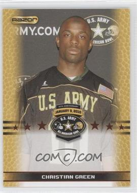 2010 Razor U.S. Army All-American Bowl - Promos #CHGR - Christian Green