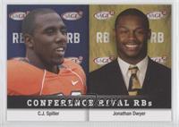 Jonathan Dwyer, C.J. Spiller