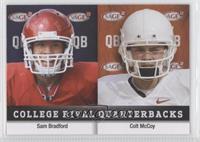 Sam Bradford, Colt McCoy